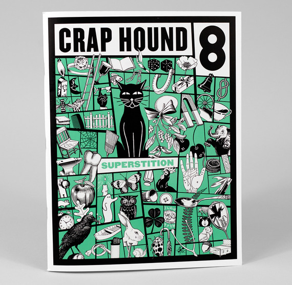 Crap Hound #8 - Superstitions, Sean Tejaratchi